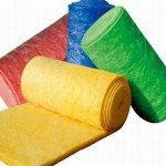 彩色玻璃棉卷毡