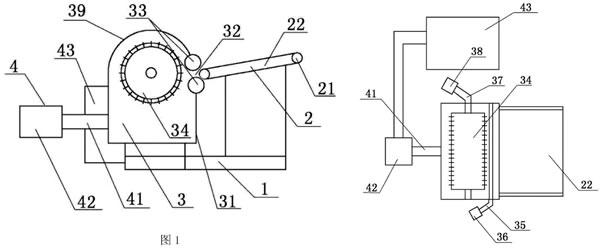 manbetx手机登录注册棉边角料的回收装置设计图